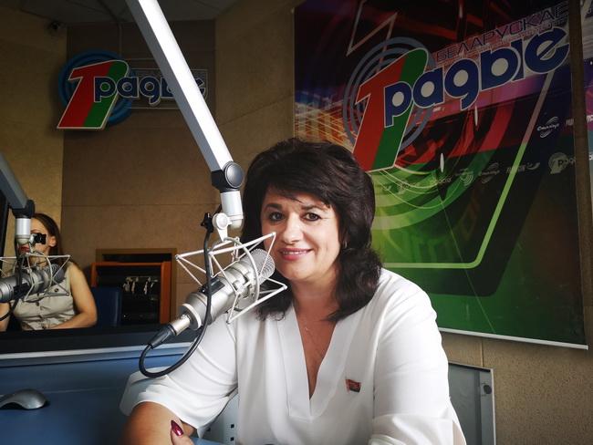 В прямом эфире Белорусского радио
