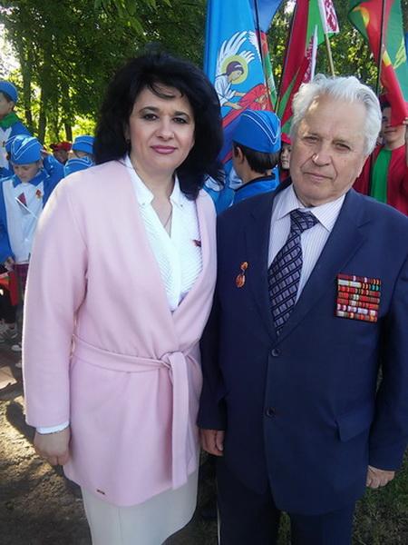 На митинге, посвящённом началу Великой Отечественной войны