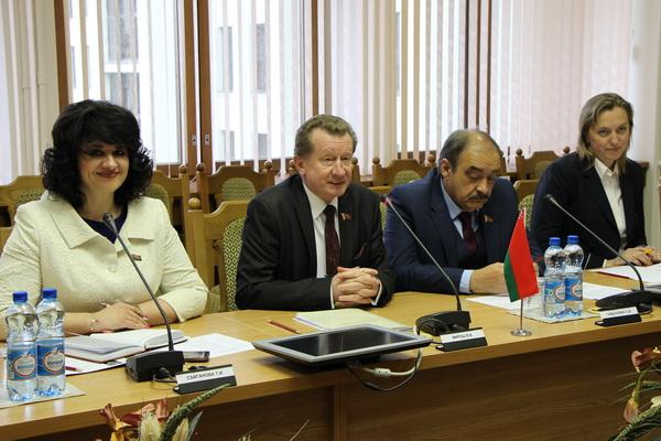 На встрече с парламентской делегацией Эстонии