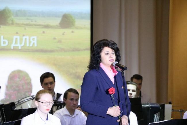 На торжественном мероприятии, посвященном 33-летию Чернобыльской катастрофы