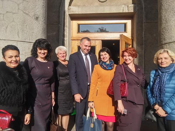 На торжественном мероприятии в Ленинском районе г.Минска, посвященном Дню учителя