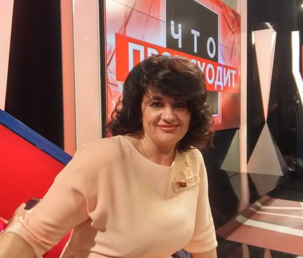 """На  ток- шоу телеканала РТР-Беларусь """"Что происходит"""""""