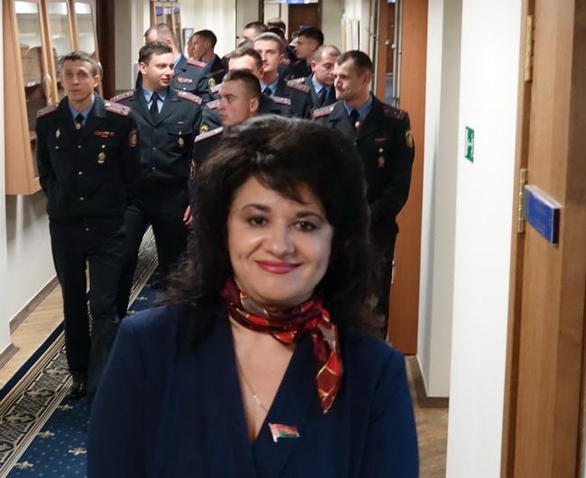 Во время экскурсии в Президентскую библиотеку руководящего состава ВЧ 5448